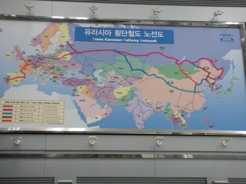 Trans Eurasian Railway Network