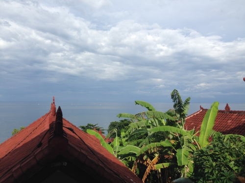 View from Warung Ari, Amed, Bali (December 2014)