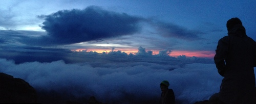 The View from Mt. Agung, Bali (December 2014)